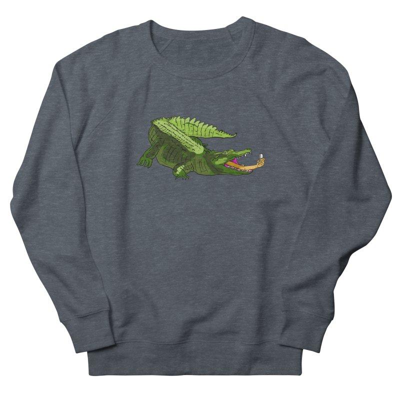 selfie with kroko Women's Sweatshirt by mikbulp's Artist Shop