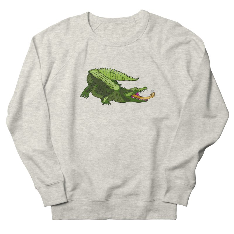 selfie with kroko Women's Sweatshirt by mikbulp's Artist Shop