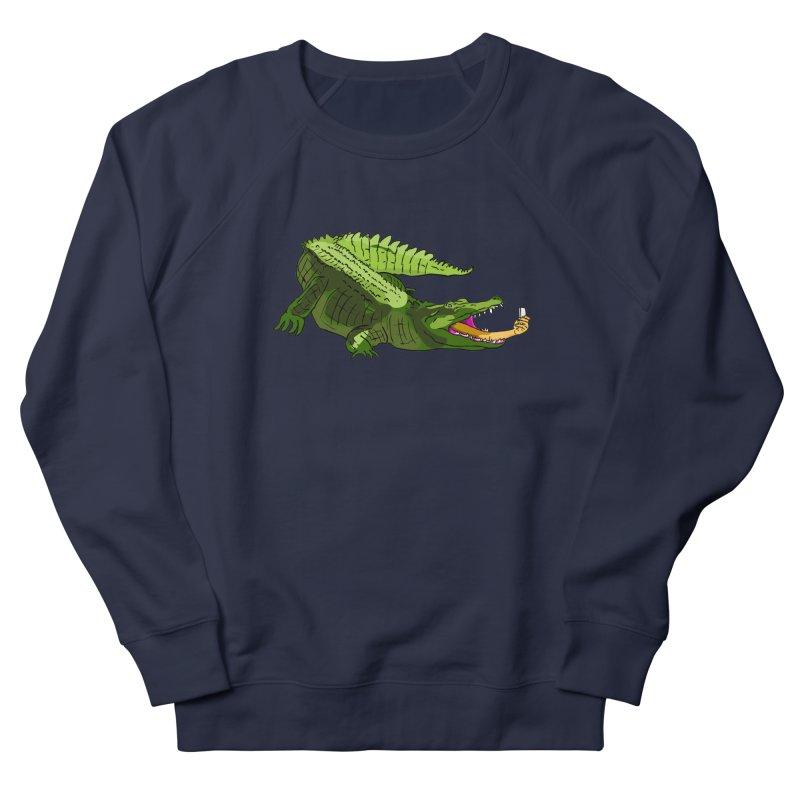 selfie with kroko Men's Sweatshirt by mikbulp's Artist Shop