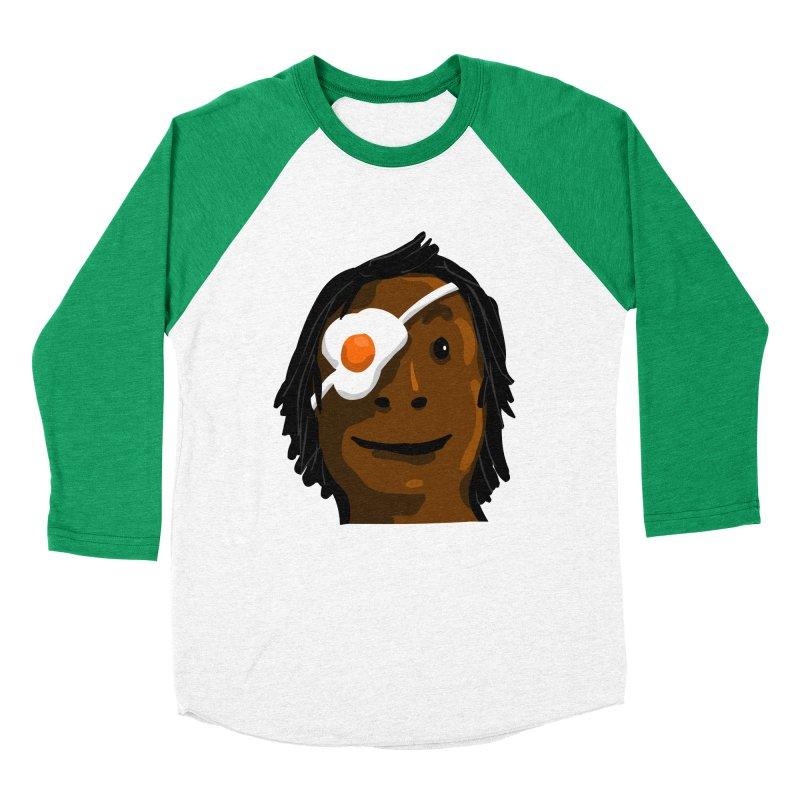 Egghead Women's Baseball Triblend T-Shirt by mikbulp's Artist Shop