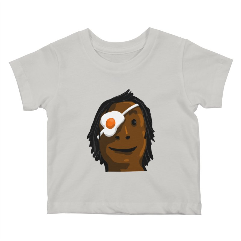 Egghead Kids Baby T-Shirt by mikbulp's Artist Shop