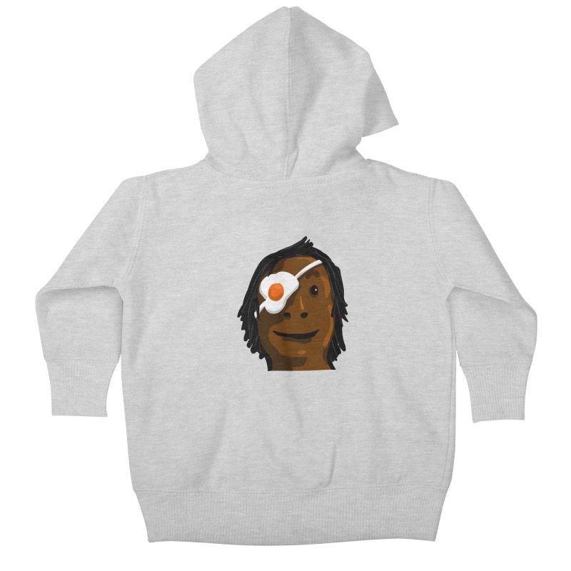 Egghead Kids Baby Zip-Up Hoody by mikbulp's Artist Shop