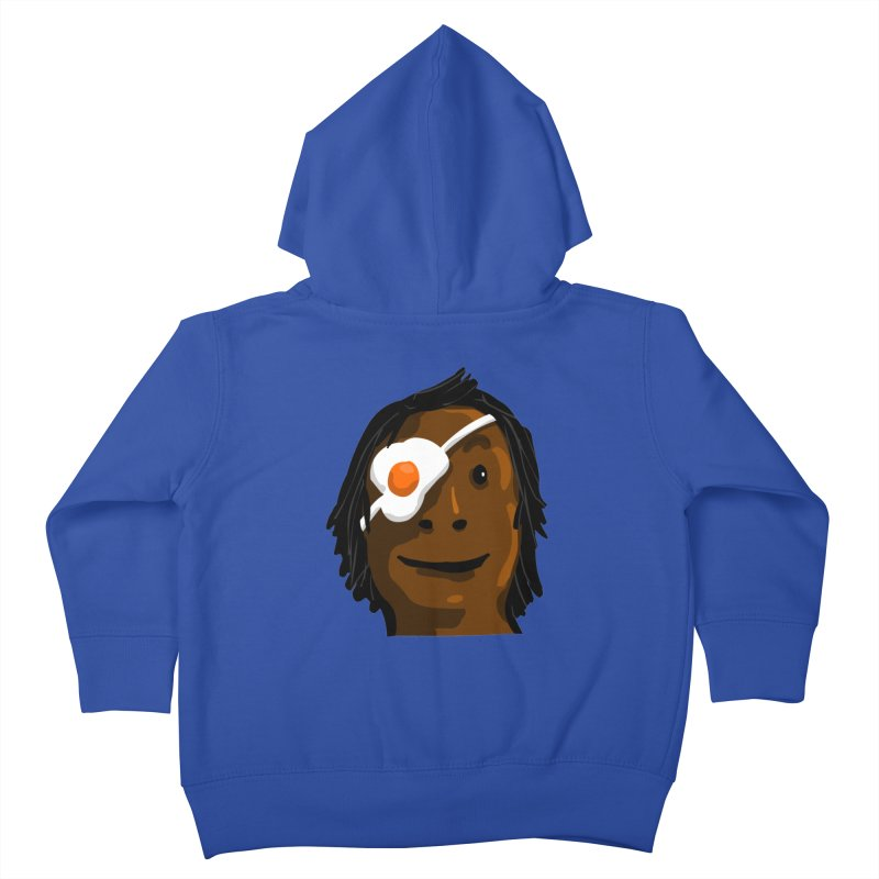 Egghead Kids Toddler Zip-Up Hoody by mikbulp's Artist Shop