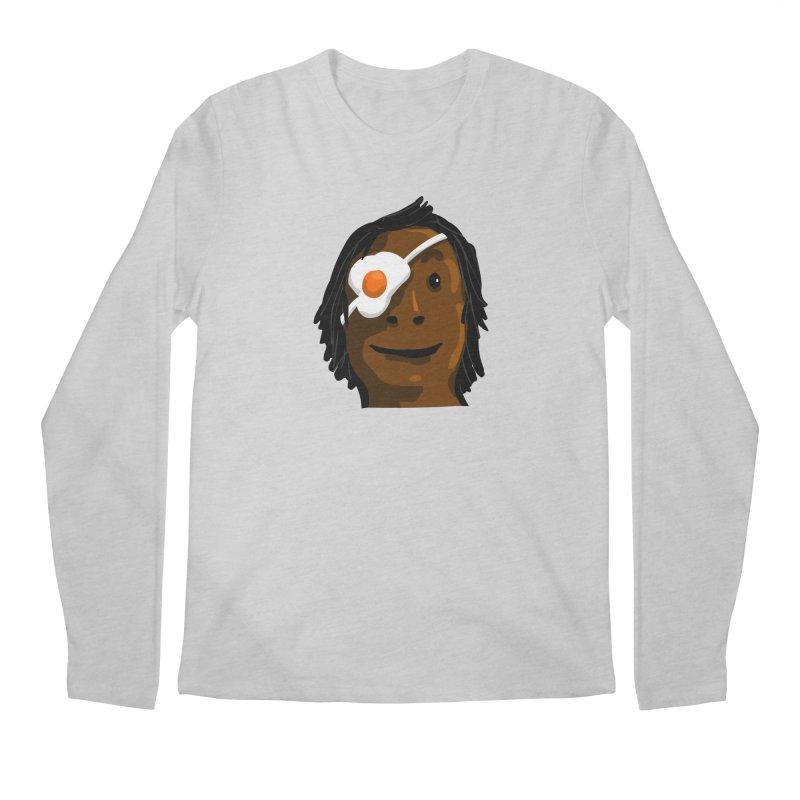 Egghead Men's Regular Longsleeve T-Shirt by mikbulp's Artist Shop