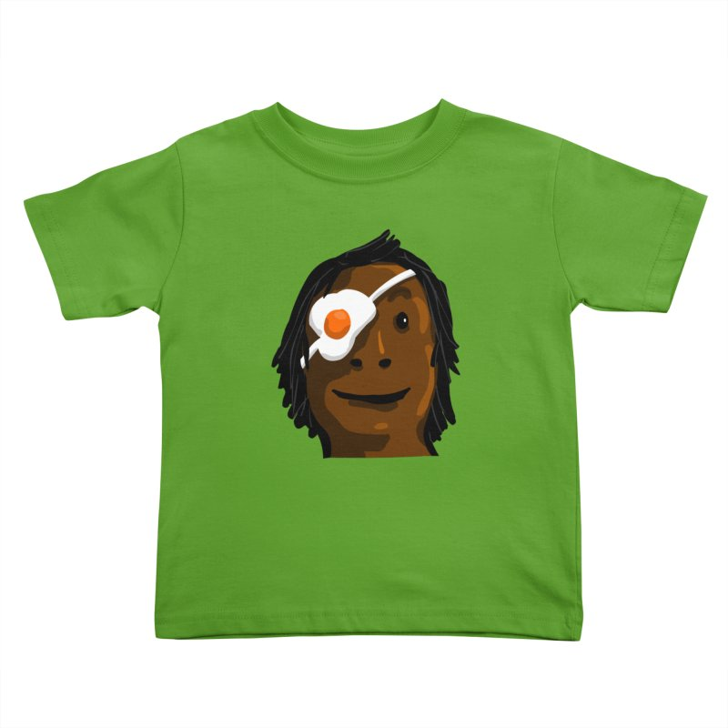 Egghead Kids Toddler T-Shirt by mikbulp's Artist Shop