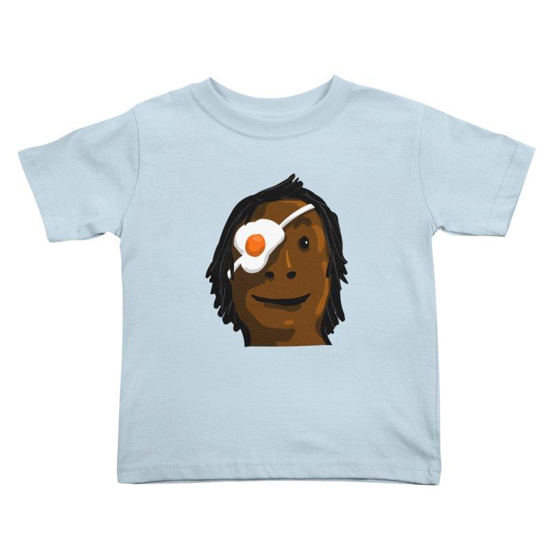 Egghead Kids Toddler T-Shirt by mikbulp's Artist Shop