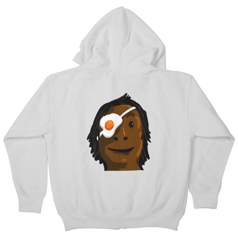 Egghead Kids Zip-Up Hoody by mikbulp's Artist Shop