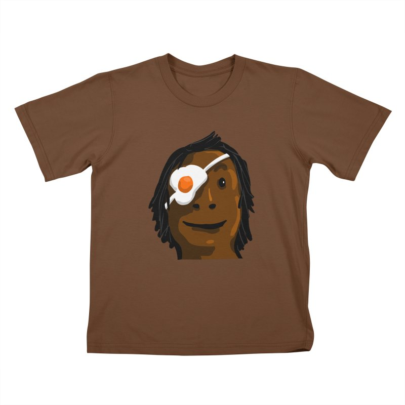 Egghead Kids T-Shirt by mikbulp's Artist Shop
