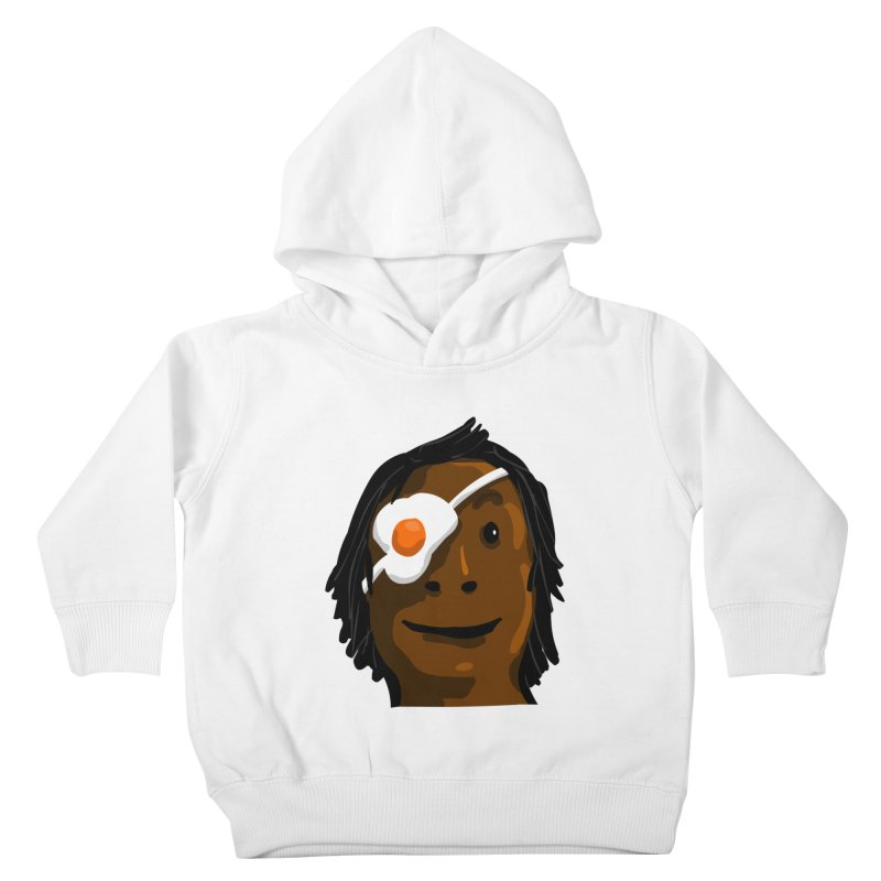 Egghead Kids Toddler Pullover Hoody by mikbulp's Artist Shop