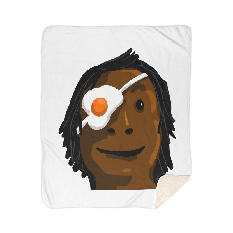 Egghead Home Sherpa Blanket Blanket by mikbulp's Artist Shop