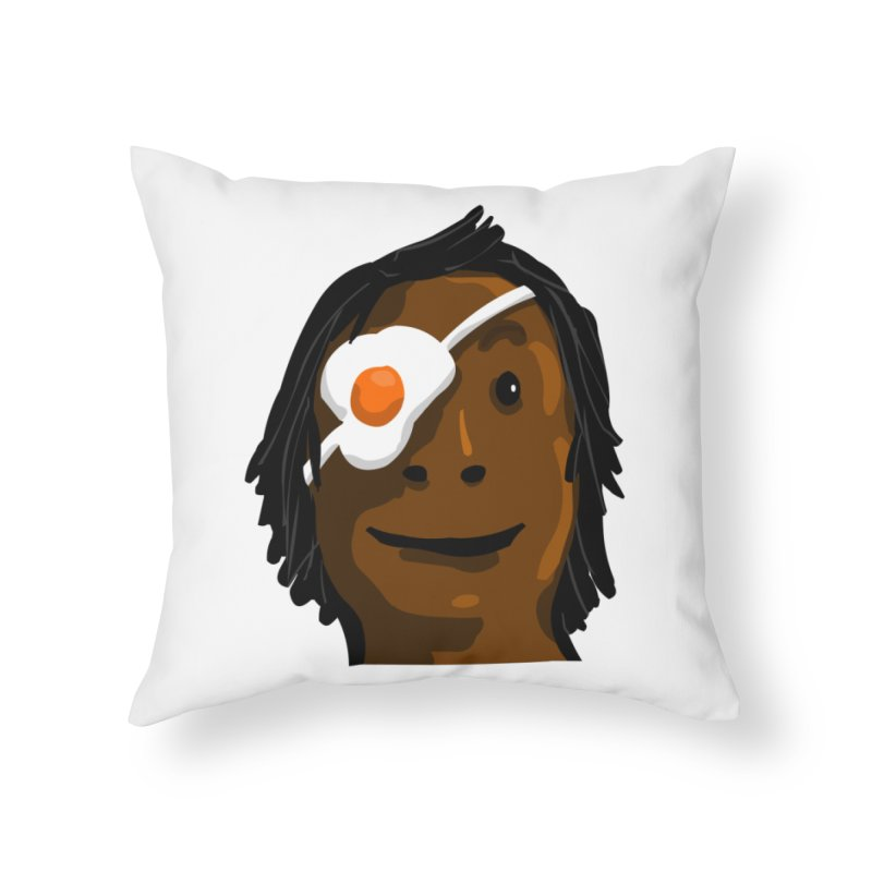 Egghead Home Throw Pillow by mikbulp's Artist Shop