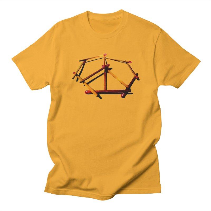 peace matches Men's T-shirt by mikbulp's Artist Shop
