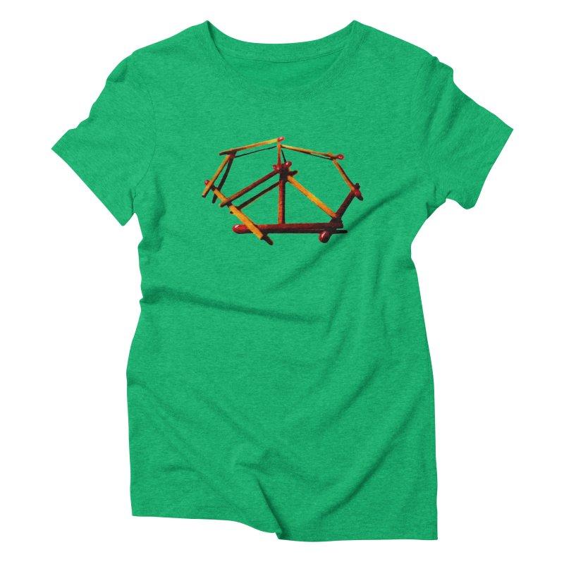 peace matches Women's Triblend T-shirt by mikbulp's Artist Shop