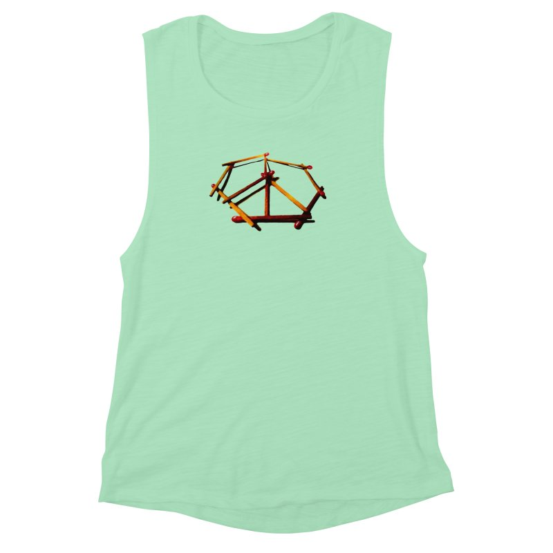 peace matches Women's Muscle Tank by mikbulp's Artist Shop