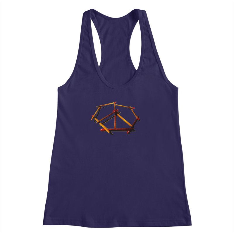 peace matches Women's Racerback Tank by mikbulp's Artist Shop
