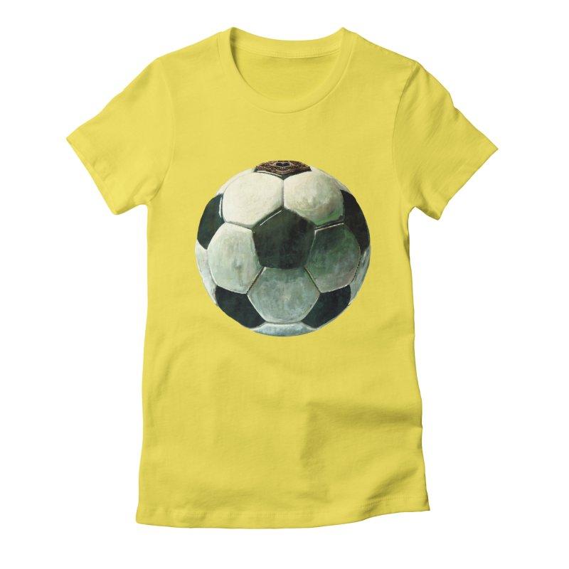 powerplay Women's Fitted T-Shirt by mikbulp's Artist Shop