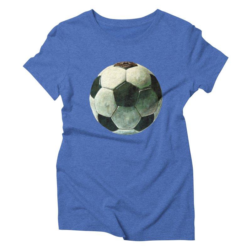 powerplay Women's Triblend T-shirt by mikbulp's Artist Shop