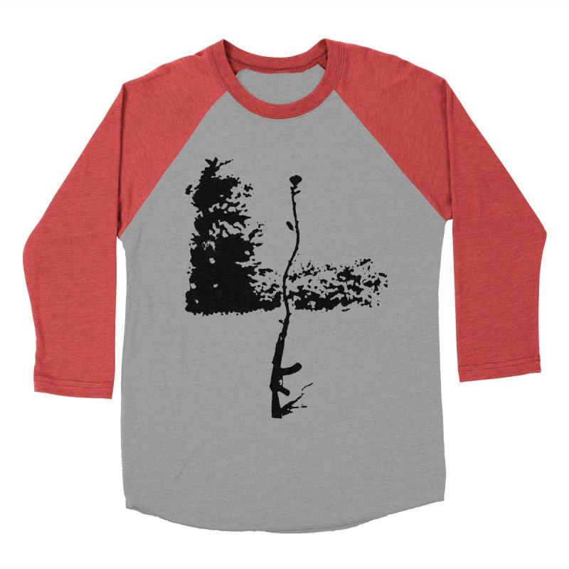 flowerpower Women's Baseball Triblend T-Shirt by mikbulp's Artist Shop