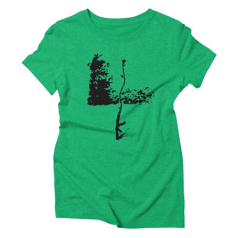 flowerpower Women's Triblend T-shirt by mikbulp's Artist Shop