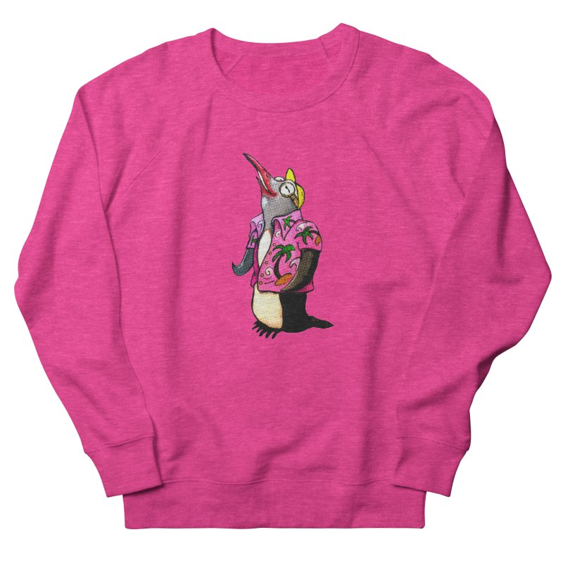 hawaian pingu Women's Sweatshirt by mikbulp's Artist Shop