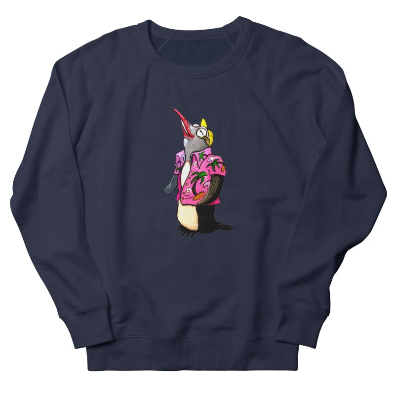 hawaian pingu Women's Sweatshirt by mikbulp's Artist Shop