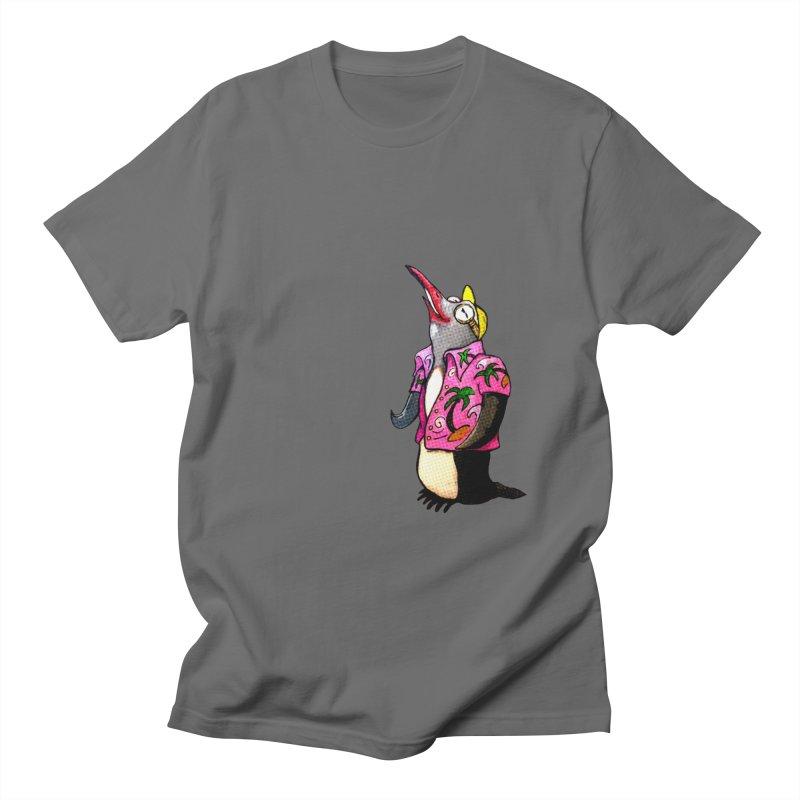 hawaian pingu Men's T-Shirt by mikbulp's Artist Shop
