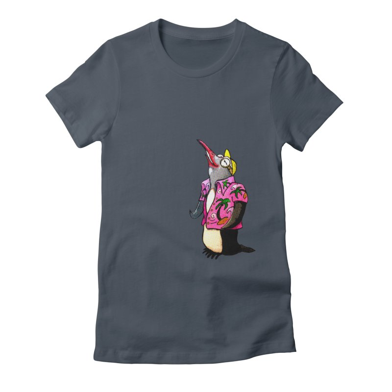 hawaian pingu Women's T-Shirt by mikbulp's Artist Shop