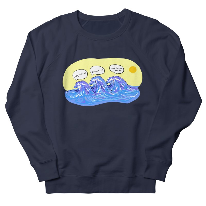 wave to waves Men's Sweatshirt by mikbulp's Artist Shop