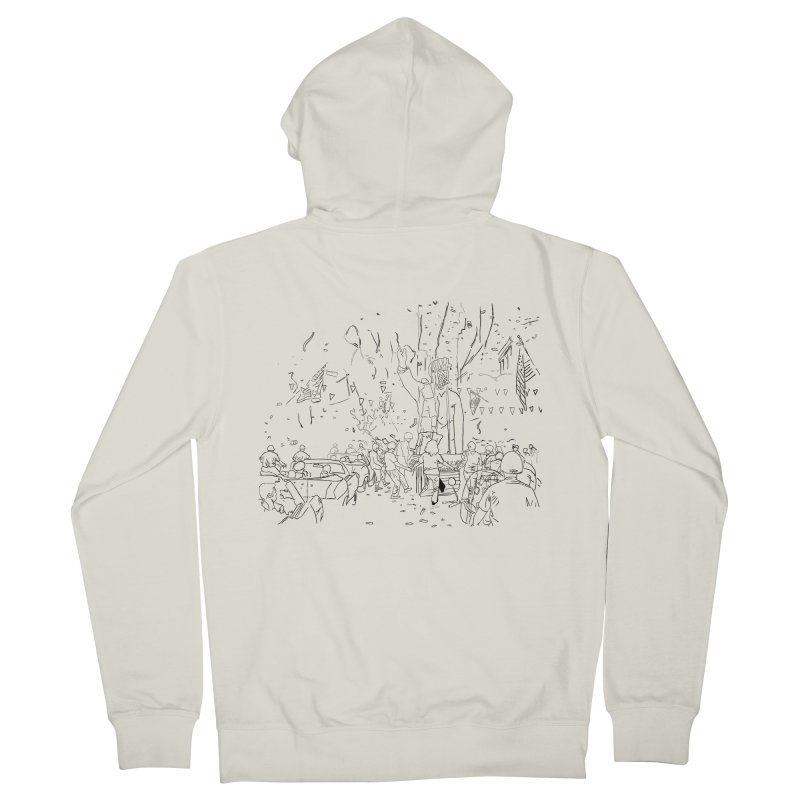 Troya Men's Zip-Up Hoody by mikbulp's Artist Shop
