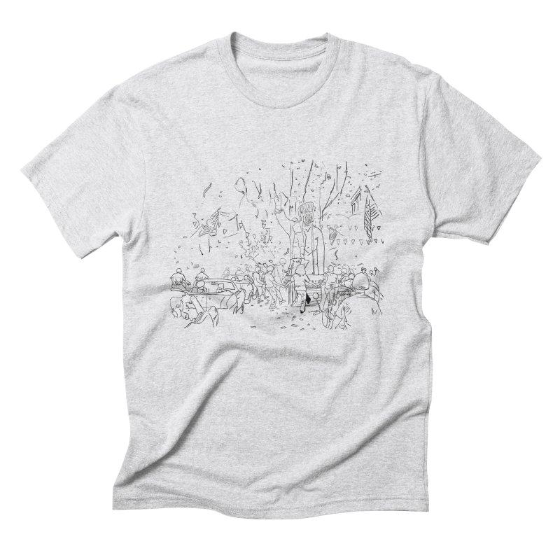 Troya Men's Triblend T-shirt by mikbulp's Artist Shop