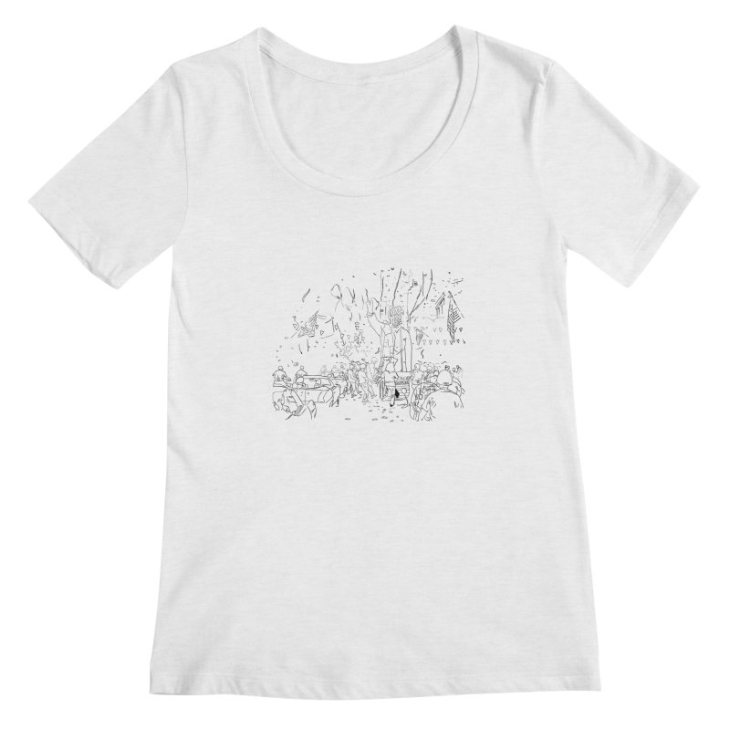 Troya Women's Scoopneck by mikbulp's Artist Shop