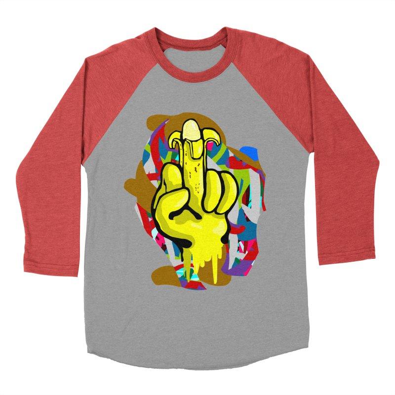 Hibanana Women's Baseball Triblend T-Shirt by mikbulp's Artist Shop