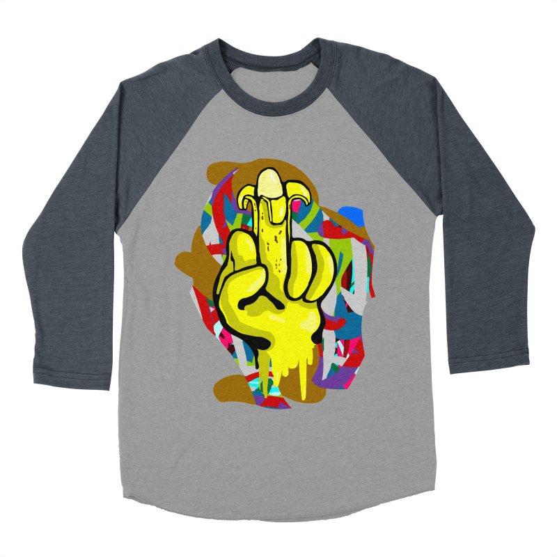 Hibanana Men's Baseball Triblend T-Shirt by mikbulp's Artist Shop