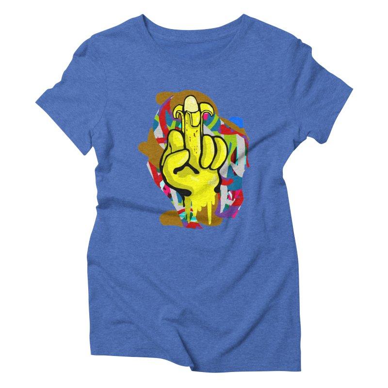 Hibanana Women's Triblend T-shirt by mikbulp's Artist Shop