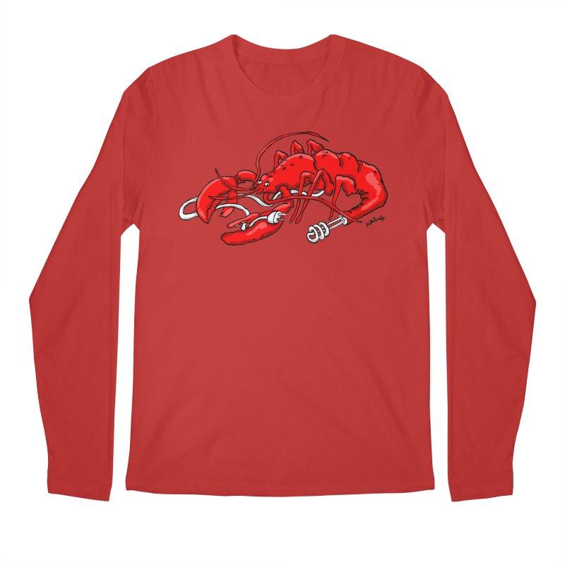 lobsterlution Men's Longsleeve T-Shirt by mikbulp's Artist Shop
