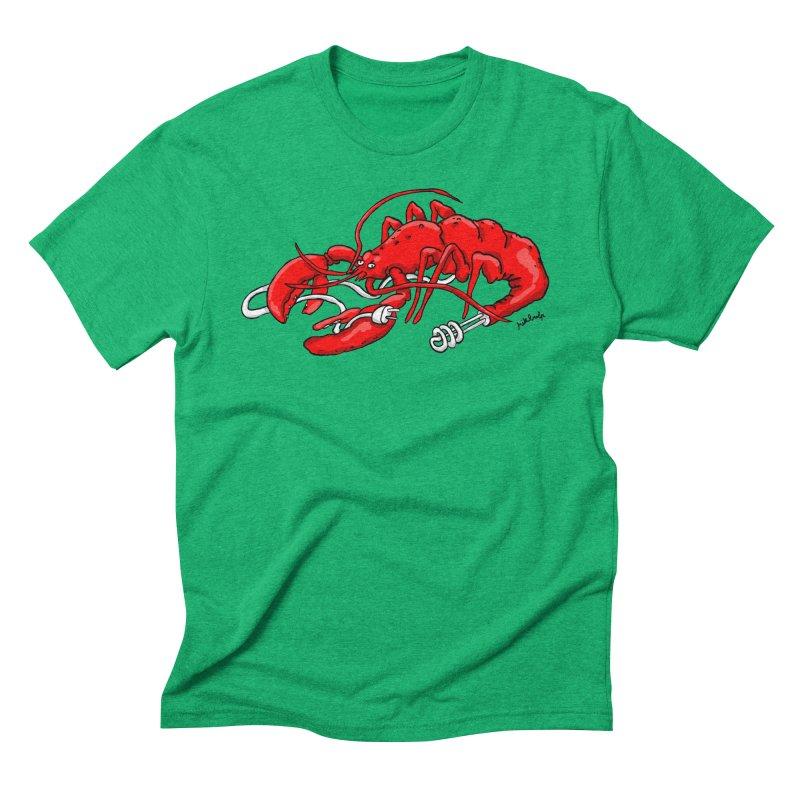 lobsterlution Men's Triblend T-Shirt by mikbulp's Artist Shop