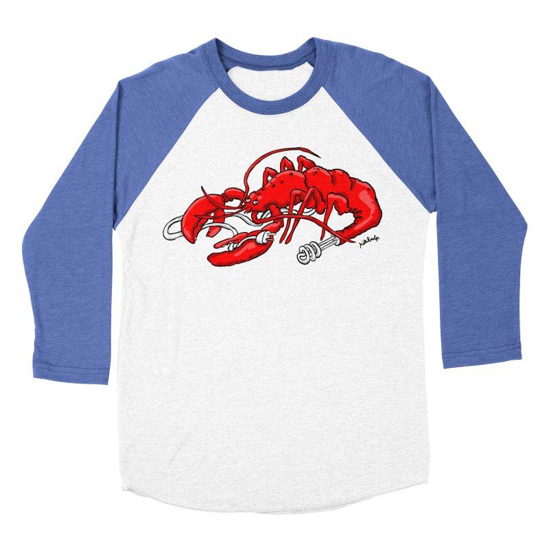 lobsterlution Women's Baseball Triblend T-Shirt by mikbulp's Artist Shop