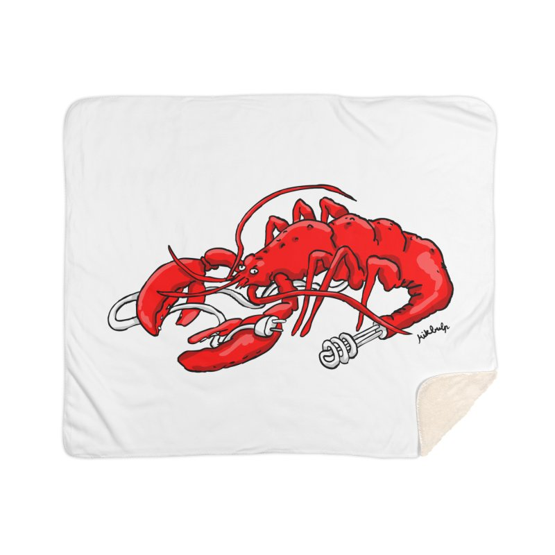lobsterlution Home Sherpa Blanket Blanket by mikbulp's Artist Shop