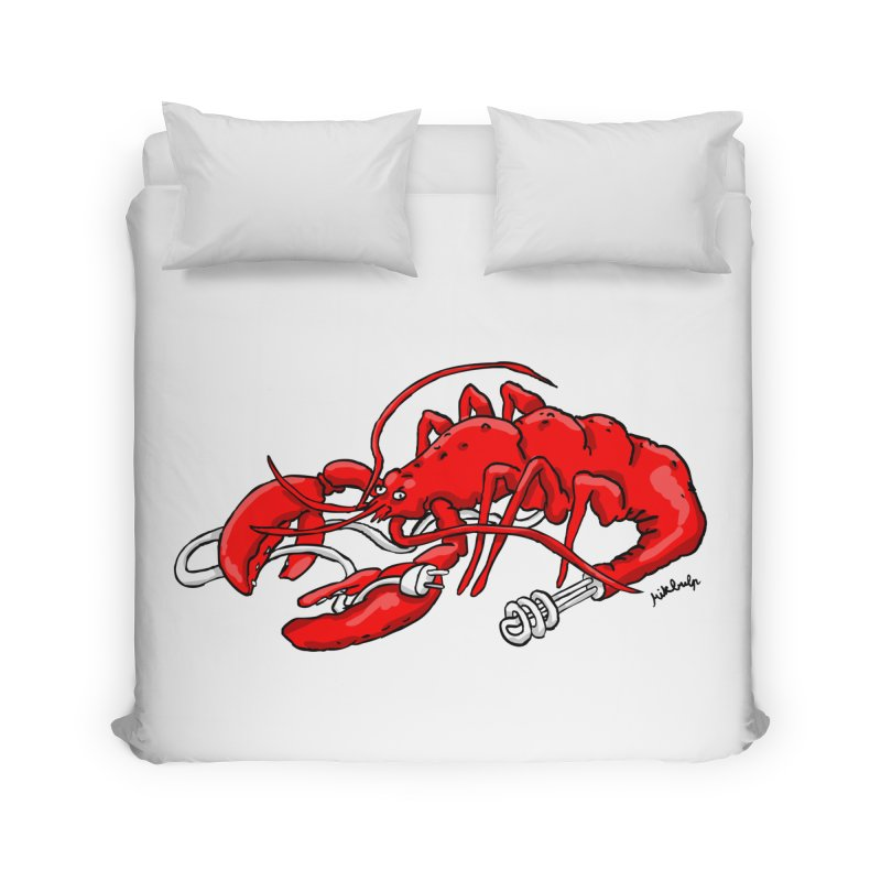 lobsterlution Home Duvet by mikbulp's Artist Shop
