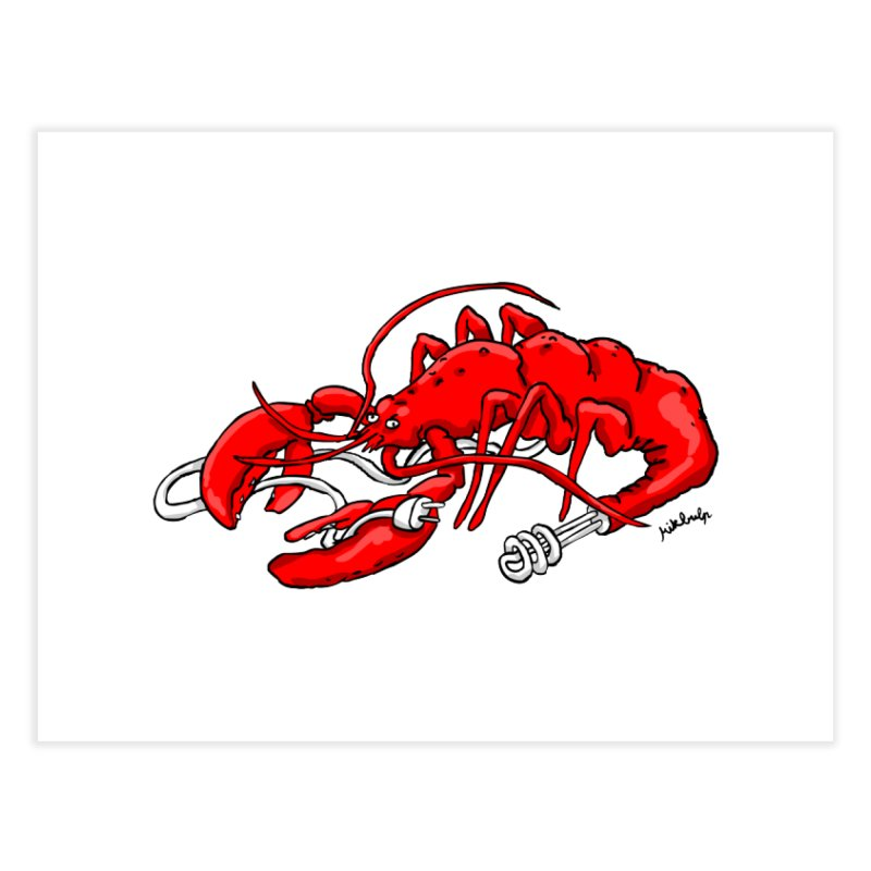 lobsterlution Home Fine Art Print by mikbulp's Artist Shop