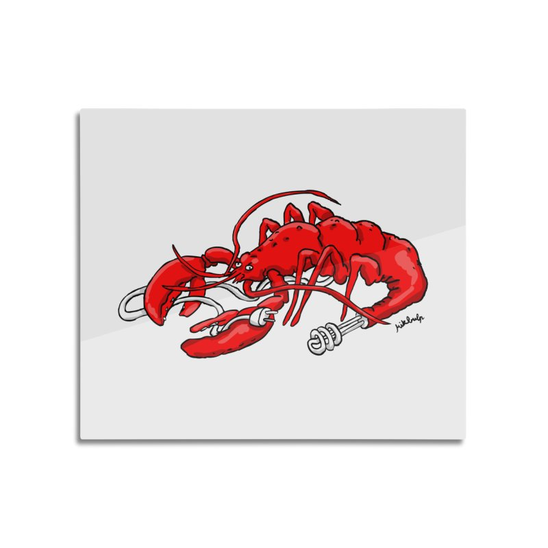 lobsterlution Home Mounted Acrylic Print by mikbulp's Artist Shop