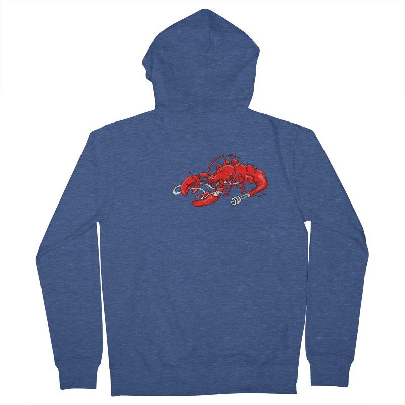 lobsterlution Women's Zip-Up Hoody by mikbulp's Artist Shop