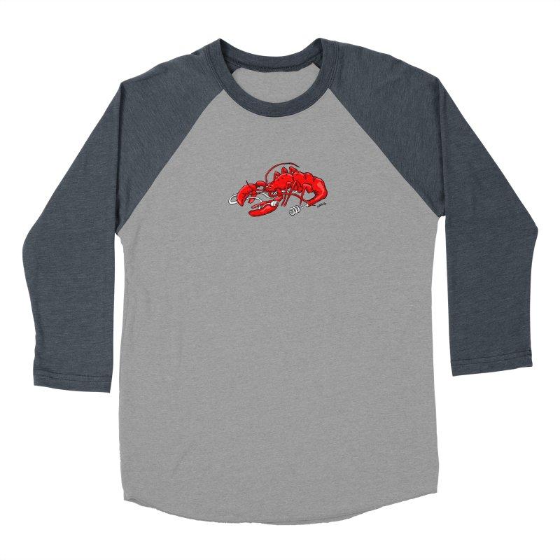 lobsterlution Women's Baseball Triblend Longsleeve T-Shirt by mikbulp's Artist Shop