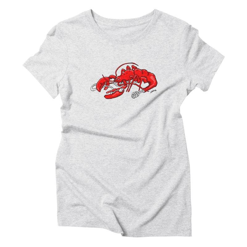 lobsterlution Women's T-Shirt by mikbulp's Artist Shop