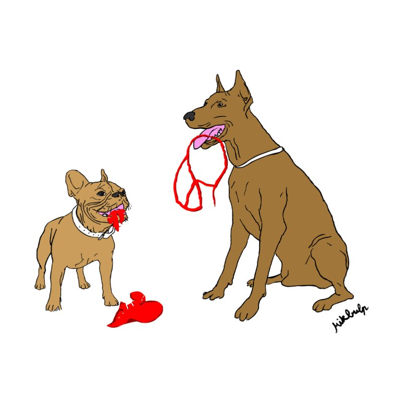 peace & love & dogs by mikbulp's Artist Shop
