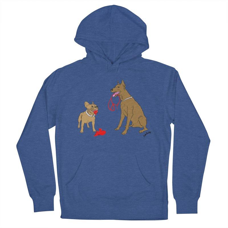 peace & love & dogs Women's Pullover Hoody by mikbulp's Artist Shop