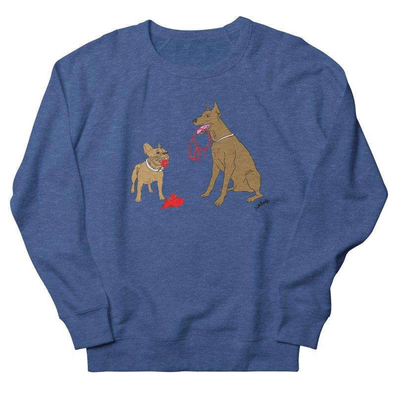 peace & love & dogs Women's Sweatshirt by mikbulp's Artist Shop