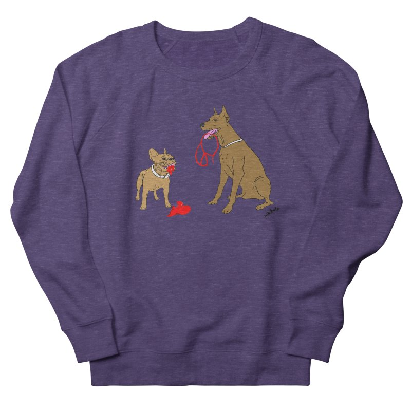 peace & love & dogs Men's Sweatshirt by mikbulp's Artist Shop