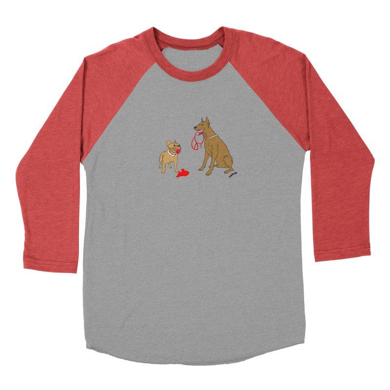 peace & love & dogs Women's Baseball Triblend Longsleeve T-Shirt by mikbulp's Artist Shop
