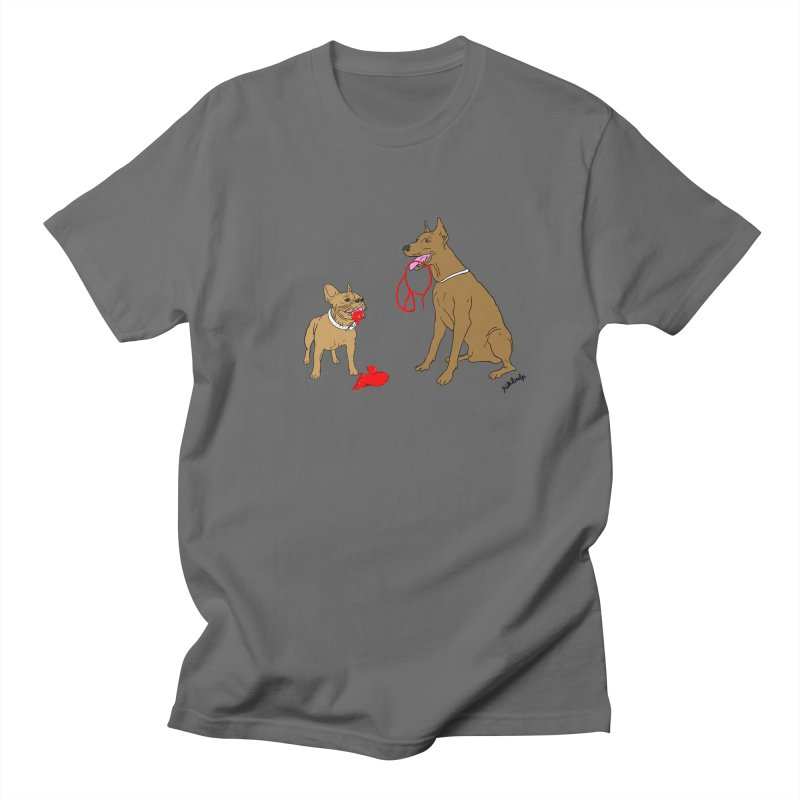 peace & love & dogs Men's T-Shirt by mikbulp's Artist Shop